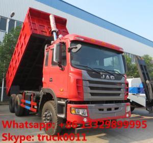 China High reliability JAC Gallop 6x4 tipper truck 30ton 40ton 50ton Dump truck Lifting system dise Jianghuai tipper Manufactures