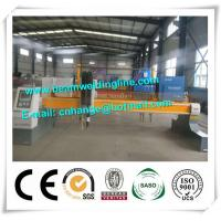 Steel Plate CNC Plasma Cutting Machine , Plasma Metal Cutter Machine Manufactures