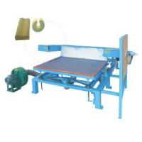 3.8 Kw Polyurethane Foam Crushing Cutting Machine For Special Shaped Slicing Foam Manufactures