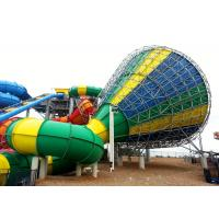 Colorful Water Park Equipment Center Parcs Woburn Water Slides Steel Structure Manufactures