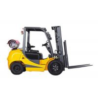 2 Ton Gasoline Powered Forklift LPG Dual Fuel 41kw 6000mm Lifting Height Manufactures