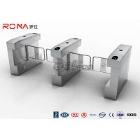 RFID Card Automatic Access Control Turnstile Gate Stainless Steel For Park / Musem Manufactures