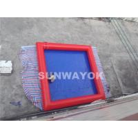 Inflatable Portable Swimming Pools Customed Used Bumper Boat Manufactures