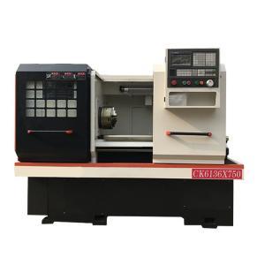 China Cnc lathe machine  CK6136 CK6150 CK6166 Cnc Metal Turning Flat Bed on sale