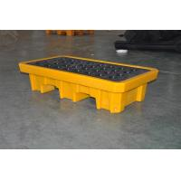 Chemical Drum Spill Containment , 2 Drum Spill Pallet For Storing Oil / Solvents Manufactures