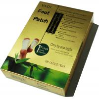 Refined Bamboo Liquid Super Herb Medical Detox Foot Patch /  pads for healthy care Manufactures