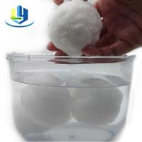 Buy cheap Oily Waste Water Int Filter Material Ball Staple Fiber from wholesalers