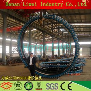 single arch DN3600mm flexible rubber bellow Manufactures