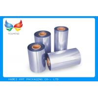 Printable Waterproof PVC Heat Shrink Film 45-50% Shrinkage For Cap Sealing Manufactures