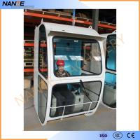 Driver Operator Cold Rolled Steel Overhead Crane Cabin With Head Lamp