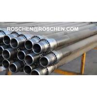 China 4 inch Reverse Circulation Drill Rods with 4 inch Remet Thread for RC Hammer RE542 RC Drilling on sale