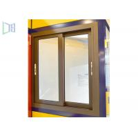 Aluminium Double Glazing Horizontal Sliding Windows Impact And Abrasion