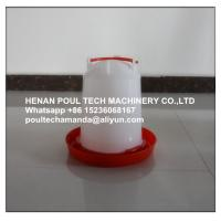 Quality Poultry&Livestock Farming White Plastic Chicken Waterer & Chicken Drinker & Day Old Chicken Drinker for sale