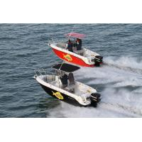 600CC Four Seats Sport Motor Boat Double Engined for Sea Fishing Manufactures
