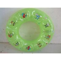 Colorful Inflatable Baby Swimming Ring Safe , Swim Floats For Toddlers Manufactures
