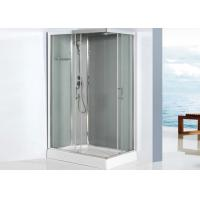 5mm Glass Square Shower Enclosure 800 X 1200 Sliding Door Shower Cubicles With Drainer Manufactures
