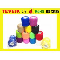 China Latex free Medical Supply Printed Cohesive Elastic Bandage with factory price on sale