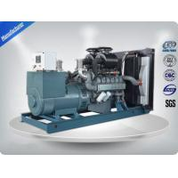364kw  Open Three Phase Industrial Generator Set Silent With  Stamford Alternator Manufactures