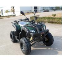 Two Seat ATV Quad Bike Double Feet Pedal With 2OOCC Water Cooled Engine Manufactures