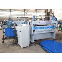 Automatic Galvanized Steel Roof Panels Cold Roll Forming Machine Manufactures