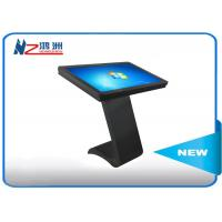55 Inch Intelligent Windows Xp Touch Screen Kiosk Stand For Shopping Mall Manufactures