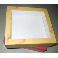 11 * 11 * 2 Inch 300gsm Kraft Paper Shirt Packaging Box With Pvc Window, Cmyk Printing Manufactures
