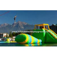Quality Huge Inflatable Water Park, Inflatable Aqua Park Floating On Lake for sale