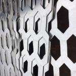 aluminio perforados exteriores para construir Decroration