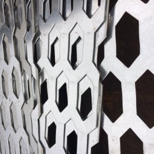 Quality aluminio perforados exteriores para construir Decroration for sale
