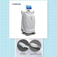 Ipl & Rf Shr Hair Removal Machine Vertical Type With Two Handles Sh-1 Manufactures