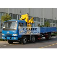 Durable XCMG Transportation Truck Mounted Crane With 6300kg Max Lifting Capacity Manufactures