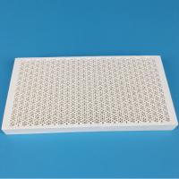 China Energy Saving Infrared Honeycomb Ceramic Burner Plate Lightweight Low Thermal Expansion on sale