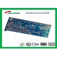 Blue 20 Layer Quick Turn PCB Prototypes 3.5MM Immersion Gold 0.25mm Hole Manufactures