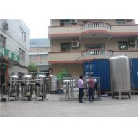 Drinking RO Water System Machine / RO Water Plant With High Pressure Pump Manufactures