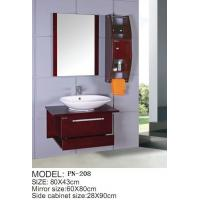 Quality Cheap small size PVC/MDF/solid wood hanging/floating/wall-mounted bathroom for sale