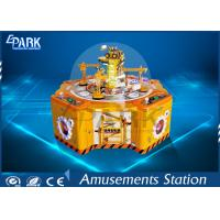 Quality Four Players Candy Crane Claw Machine , Coin Operated Claw Machine 650W for sale