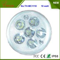 Replacing halogen or HID, 18 Watt Round LED Work Light, LED Headlight for Motorcycle Model Manufactures