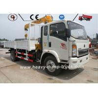 Howo 4x2 Telescopic Boom Truck Mounted Crane Hydraulic Truck 2 Ton 3 Ton 5 Ton Manufactures