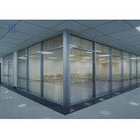 Demountable Aluminium Office Partition / Office Glass Partition Walls Manufactures