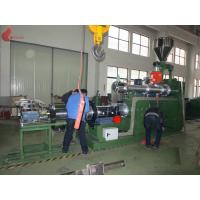 185KW PVC Plastic Pellet Machine , 0.015mm Two Stage Pelletizer Machines Manufactures