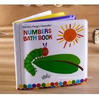 Education Soft EVA children's Bath Books Early Number Learning Manufactures