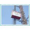 Permanent Shaft Construction Hoist Explosion Proof VFC Control For Oil Petroleum Plant Manufactures