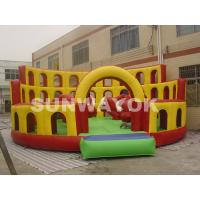 Red Bull commercial inflatable bouncers Playground With 8 x 8 x 3.6m Plato TM Manufactures