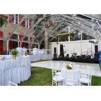 Quality High Strength White Waterproof Wedding Event Tents Large A SHAPED Tent For 600 for sale