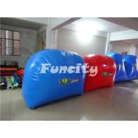 Custom Paintball Bunker Inflatable Sport Games for 10 Person 68PC Manufactures