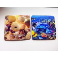 Buy cheap Customized PET lenticular 3D cup coasters from wholesalers