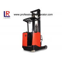 3 M Lift Height Warehouse Material Handling Equipment Electric Stand - Up Reach Forklift Truck Manufactures