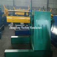 High Speed Diameter 508mm Hydraulic Decoiler For 1250mm Width Coil Manufactures