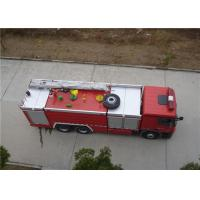 Manual 16 Forward Gear Fire Engine Ladder Truck , 9720×2500×3700mm Size Fire Fighting Vehicles Manufactures