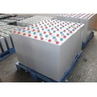 Grey F12 800 Ah OPzV Battery Sealed Lead Acid Gel Battery For Photovoltaic Systems Manufactures